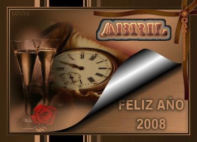 FELIZ 2008.